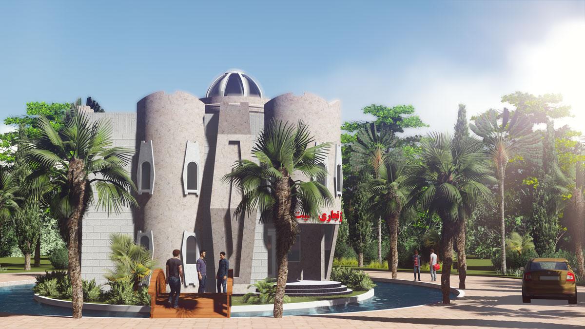 مجتمع تجاری دهکده ساحلی الیت در مجتمع ویلایی در منطقه آزاد انزلی - زیباکنار-رشت