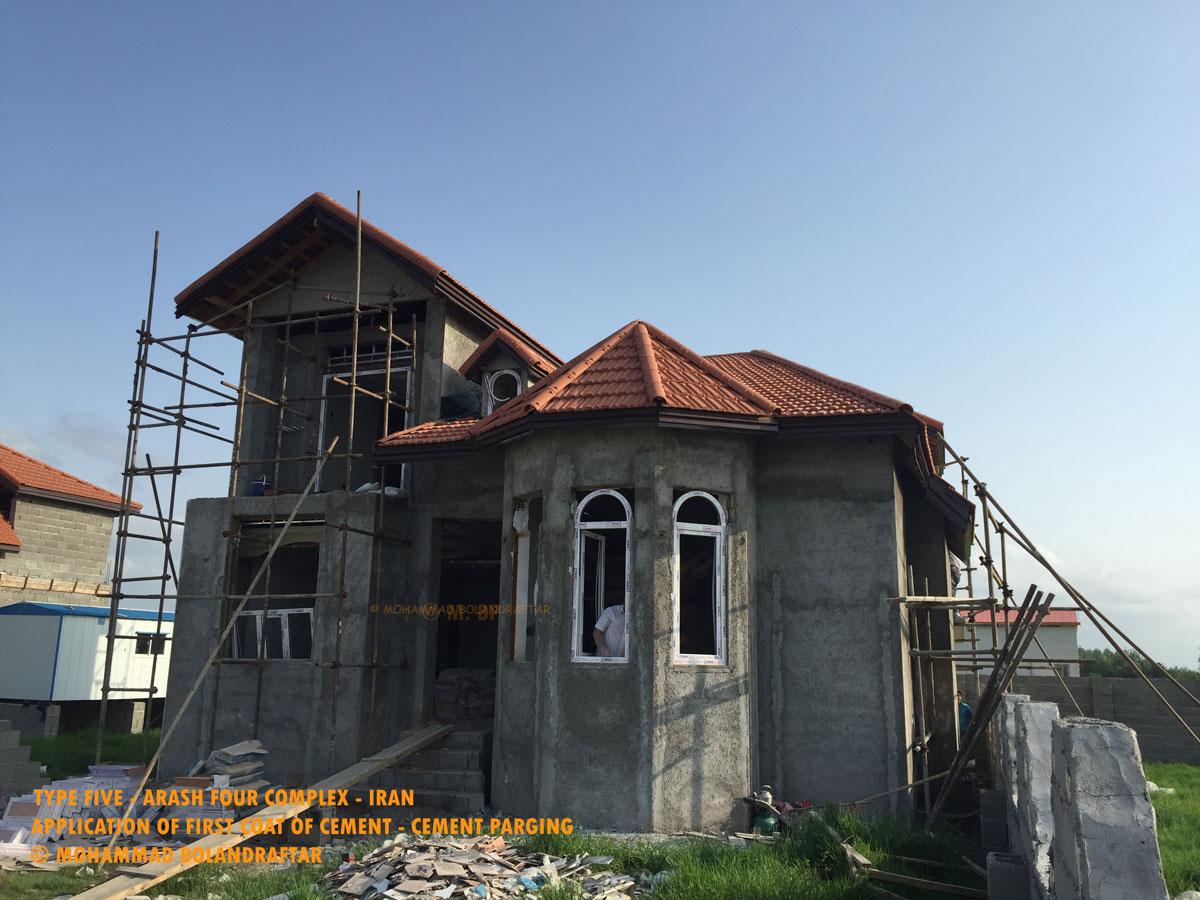 ویلا تیپ5-شهرک آرش4-ویلا-شمال-منطقه ازاد انزلی-زیباکنار